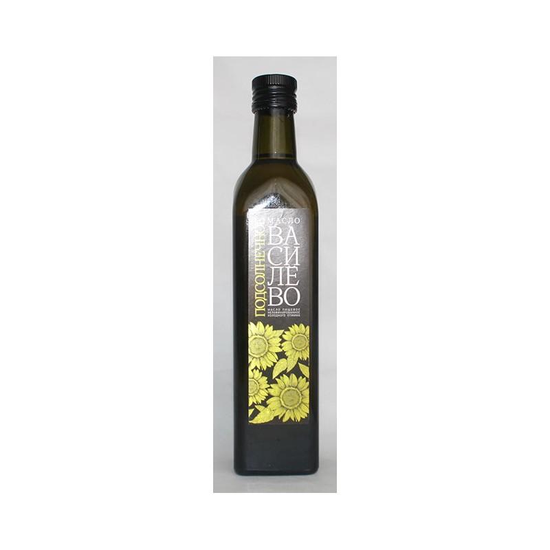 Подсолнечное масло (0,5 л- стеклянная бутылка)