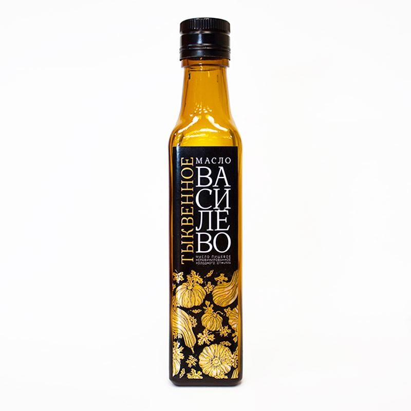 Тыквенное масло (0,25 л - стеклянная бутылка)