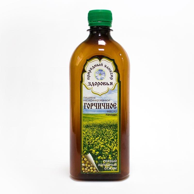 Горчичное масло мягкое из семян горчицы Сарептская