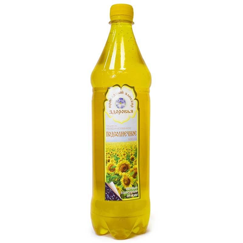 Подсолнечное масло 1 л.