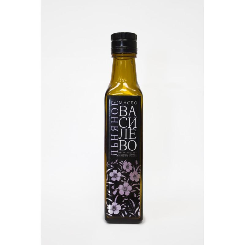 масло льняное (0,25л.- стеклянная бутылка)